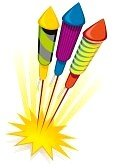 7144272-cohetes-de-fuego-artificial-sobre-fondo-blanco